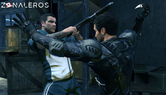 Alpha Protocol gameplay