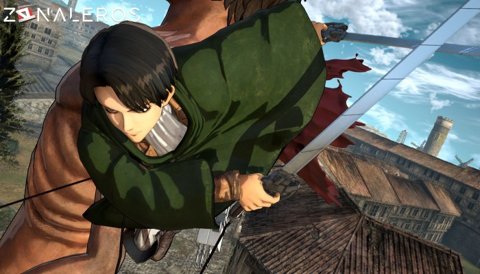 Attack on Titan: Wings of Freedom gameplay