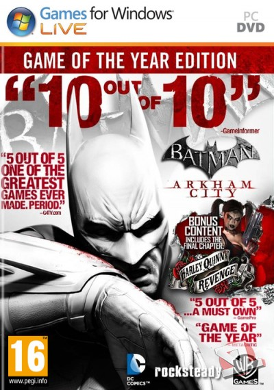 descargar Batman: Arkham City Game of the Year Edition