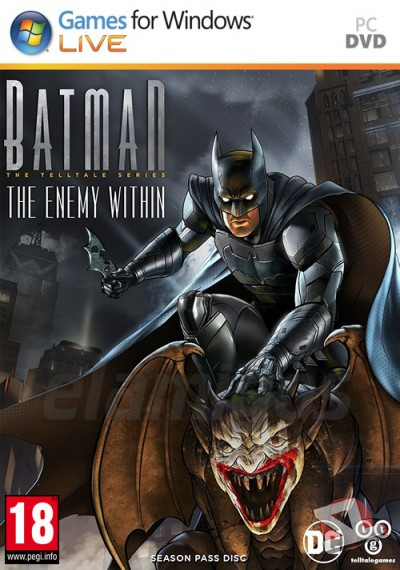 descargar Batman The Enemy Within The Telltale Series Complete Season