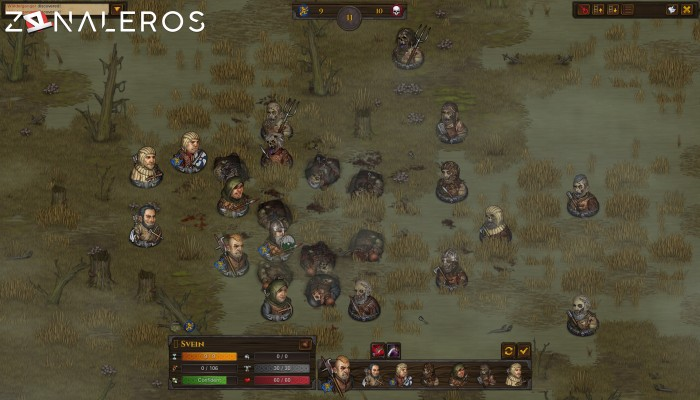 Battle Brothers gameplay