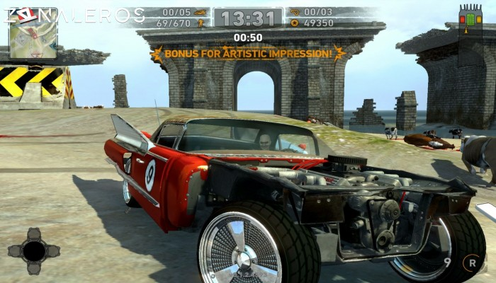 Carmageddon: Reincarnation gameplay