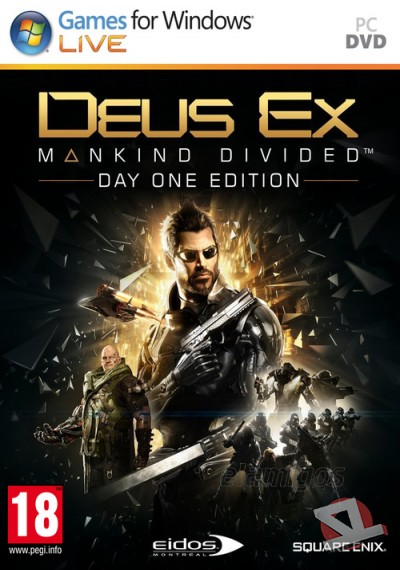 descargar Deus Ex Mankind Divided Digital Deluxe