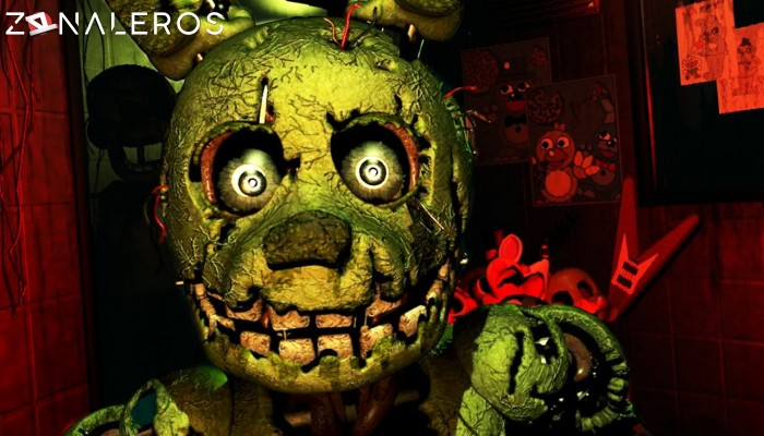 Five Nights at Freddys 3 gameplay
