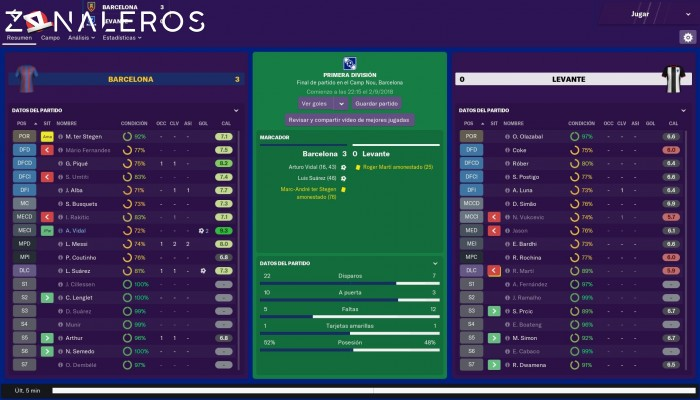 Football Manager 2019 gameplay
