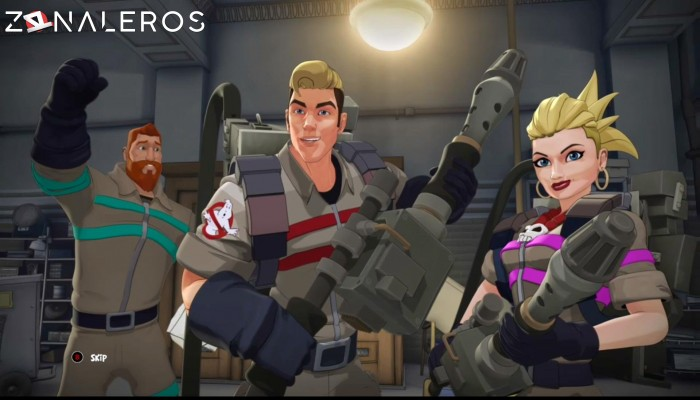 Ghostbusters The Video Game gameplay
