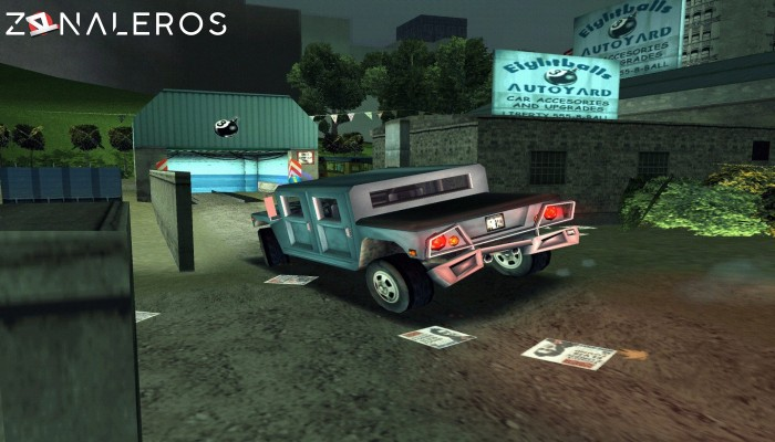 Grand Theft Auto III gameplay