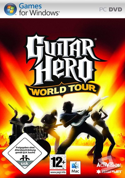 descargar Guitar Hero: World Tour