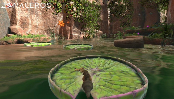 Ice Age Scrats Nutty Adventure gameplay