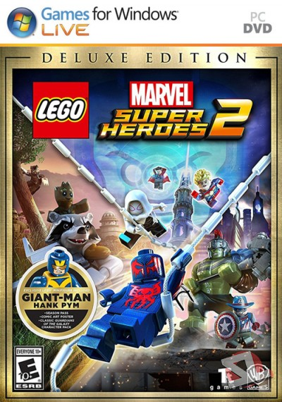 descargar LEGO Marvel Super Heroes 2 Deluxe Edition