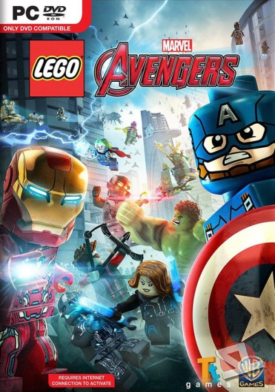 descargar LEGO MARVEL's Avengers Deluxe Edition