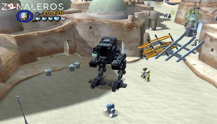 LEGO Star Wars II: The Original Trilogy gameplay