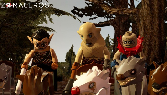 LEGO The Hobbit por mega