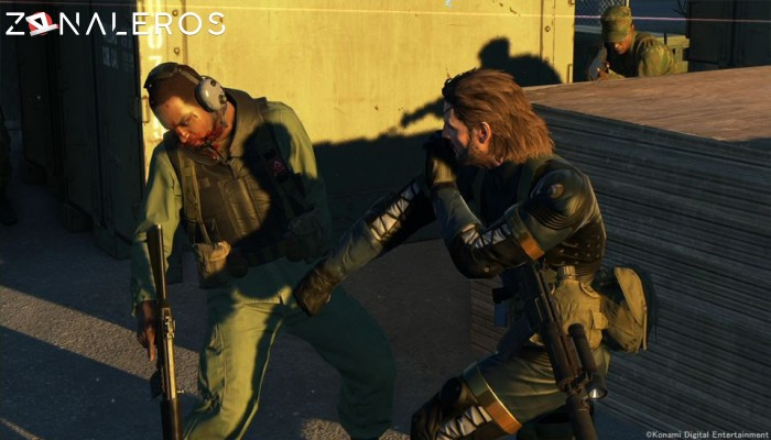 Metal Gear Solid V: Ground Zeroes gameplay