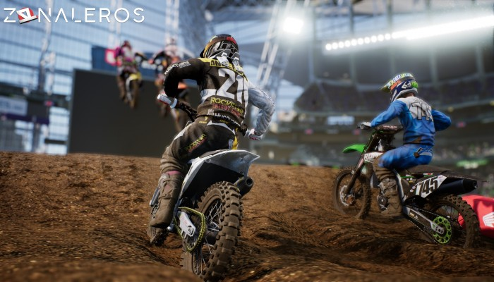 Monster Energy Supercross: The Official Videogame gameplay