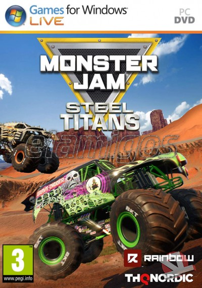 descargar Monster Jam Steel Titans