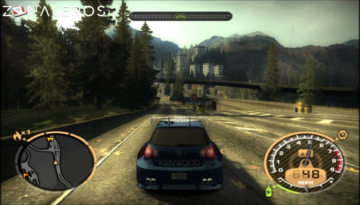 Need For Speed Most Wanted por mega