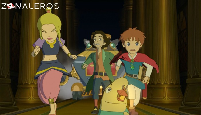 Ni no Kuni Wrath of the White Witch Remastered gameplay