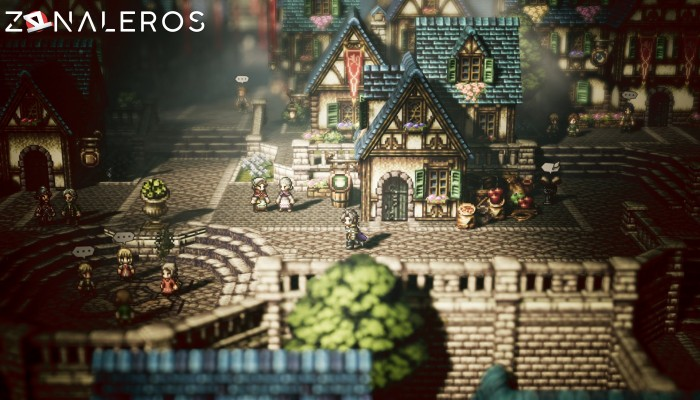 Octopath Traveler gratis