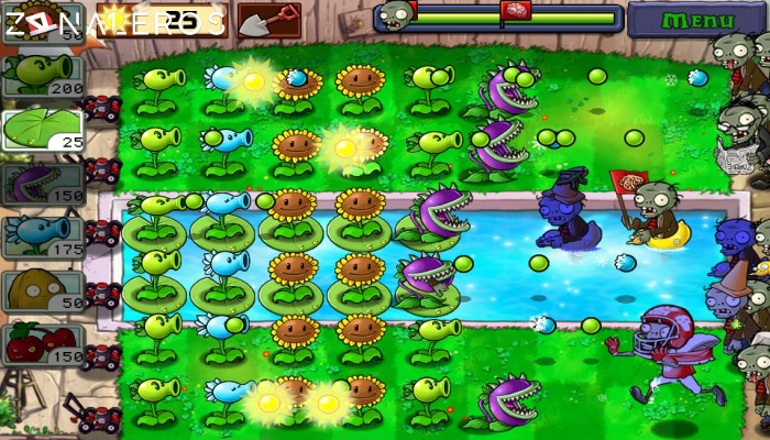 Plants vs. Zombies: Game of the Year Edition gameplay
