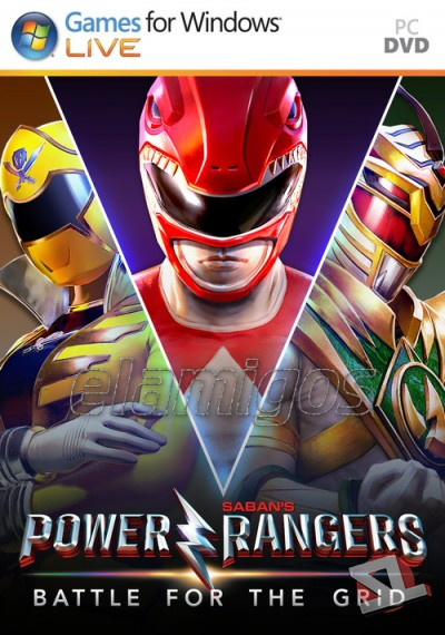 descargar Power Rangers: Battle for the Grid