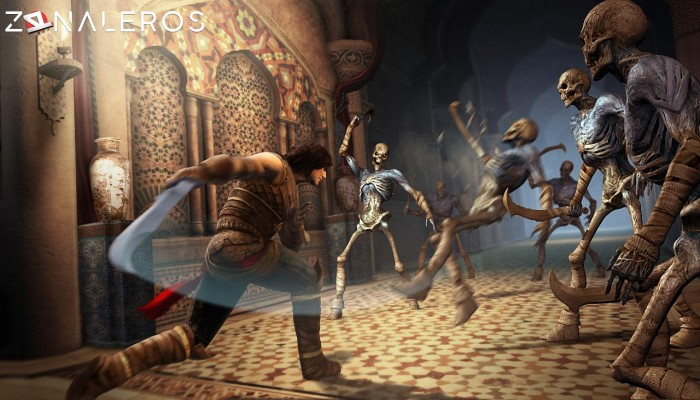 Prince of Persia: The Forgotten Sands gameplay