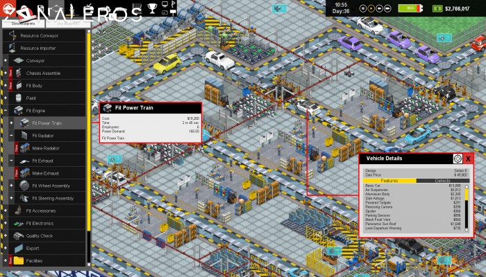 Production Line: Car Factory Simulation por torrent
