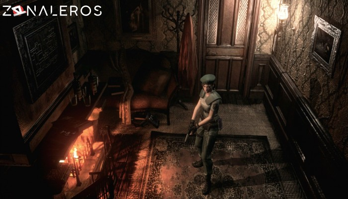 Resident Evil: HD Remaster gameplay