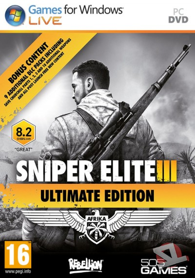 descargar Sniper Elite 3: Afrika Ultimate Edition