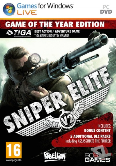 descargar Sniper Elite V2 Game of the Year Edition
