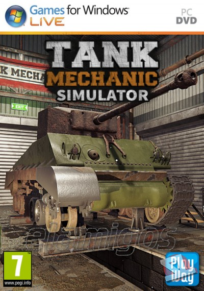 descargar Tank Mechanic Simulator