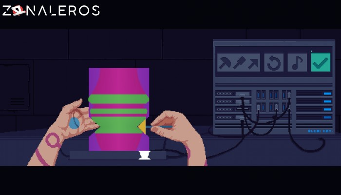 The Red Strings Club gameplay