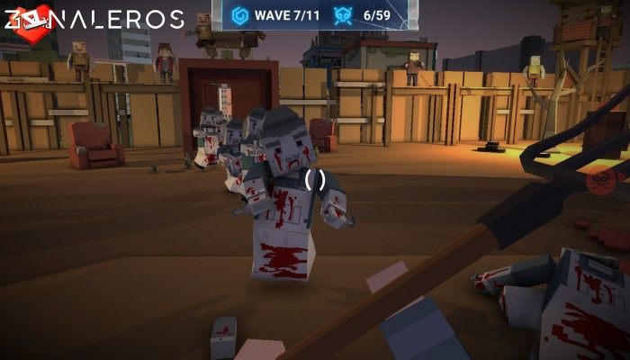 The Walking Zombie: Dead City gameplay