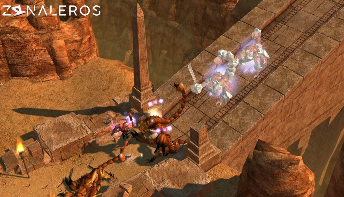 Titan Quest Anniversary Edition gameplay