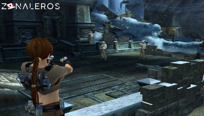 Tomb Raider: Legend gameplay