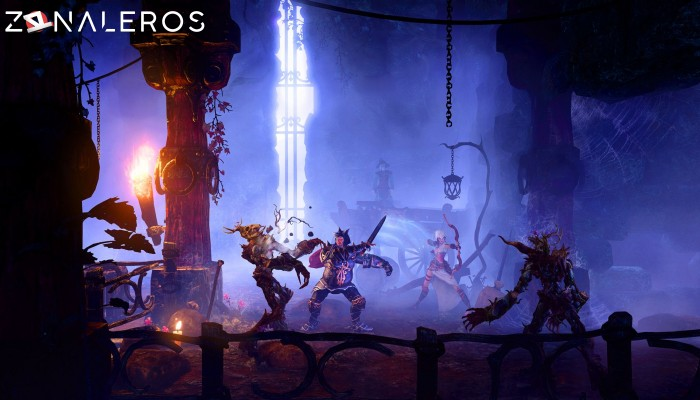Trine 3: The Artifacts of Power gameplay