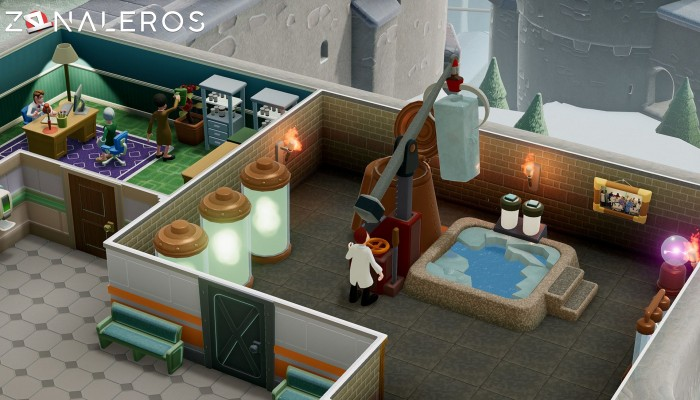 Two Point Hospital por torrent