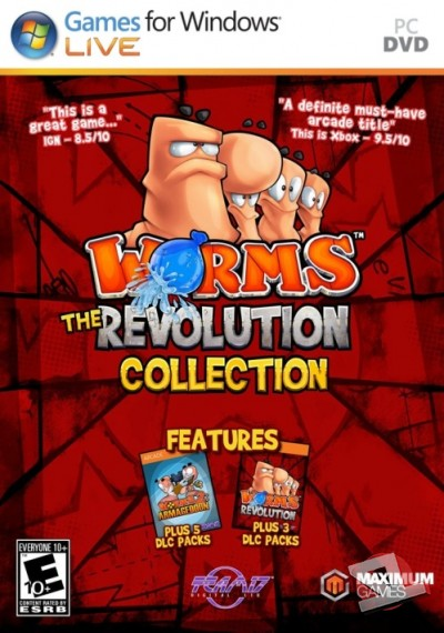 descargar Worms Revolution Collection