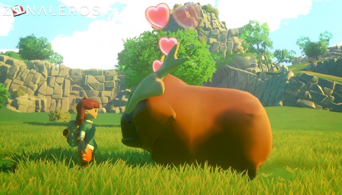 Yonder: The Cloud Catcher Chronicles gameplay
