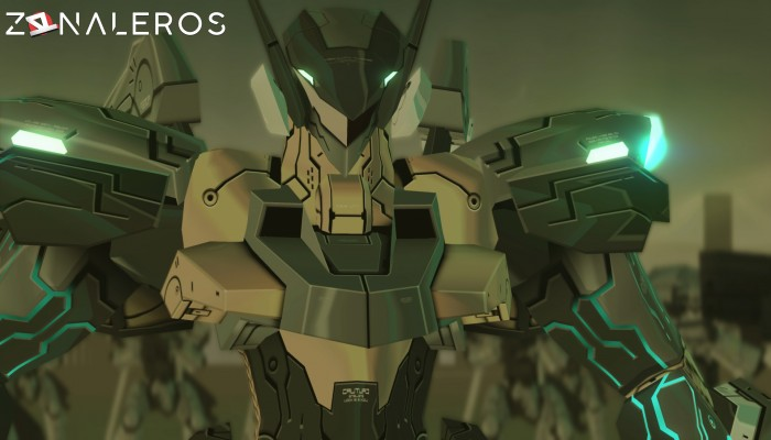 Zone of the Enders: The 2nd Runner MARS gameplay
