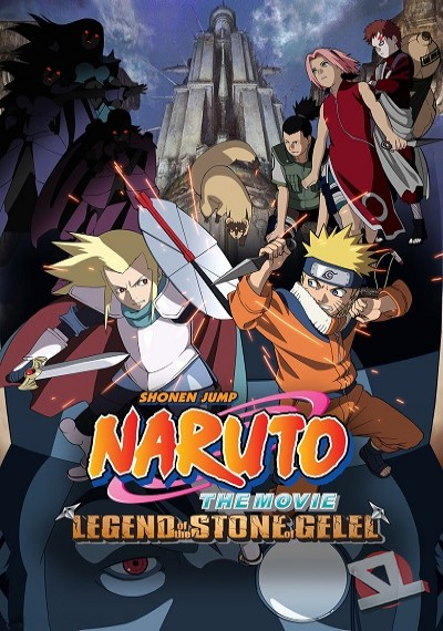 ver Naruto the Movie 2: Legend of the Stone of Gelel